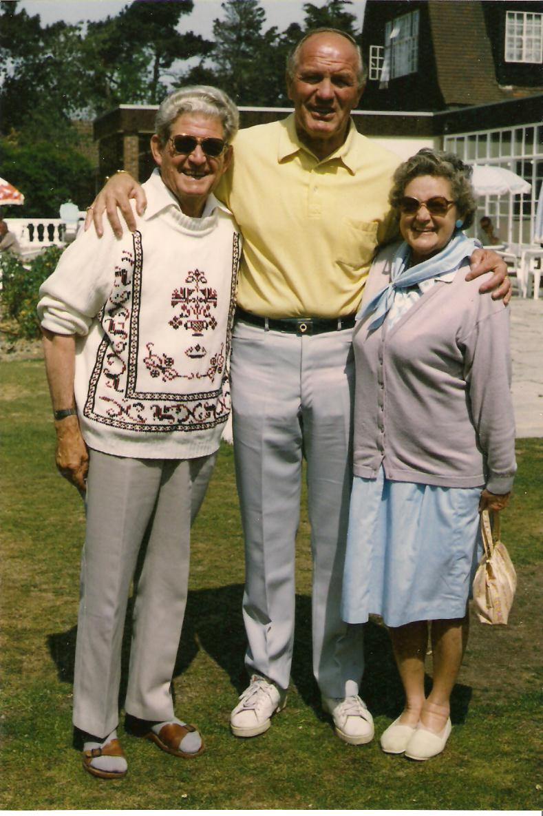 My parents with Sir Henry Cooper
