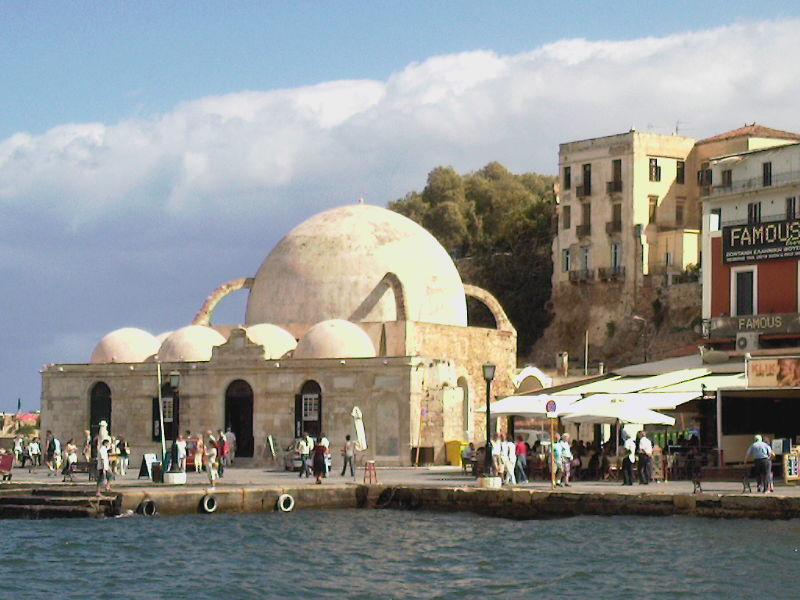 The mosque in Chania, Crete