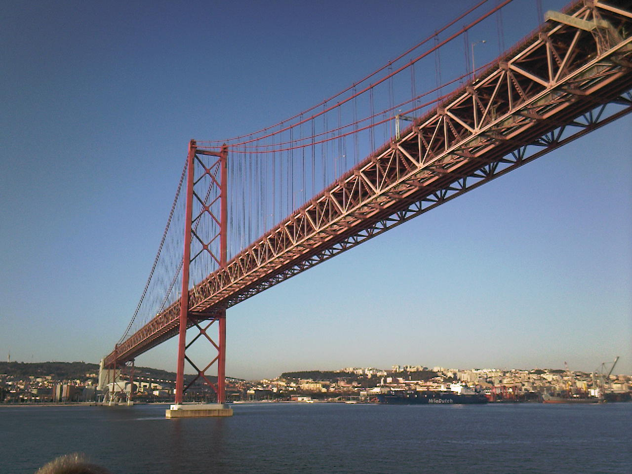 Bridge over the Tagus, Lisbon