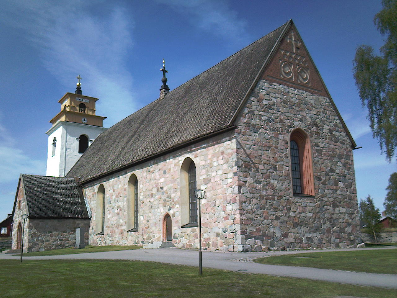 Church in Gammelstad, Lulea