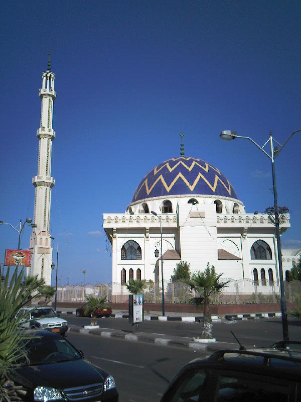 A mosque in Port Said, Egypt