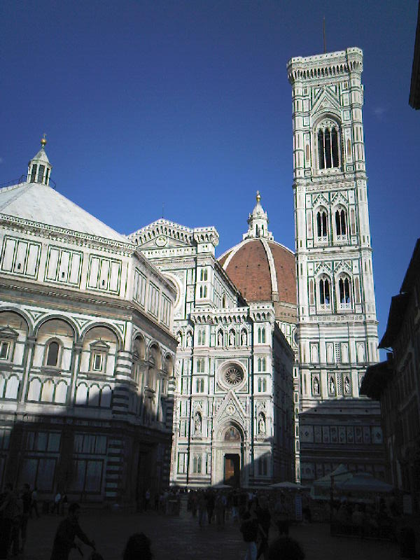 The cathedral in Florence, Italy