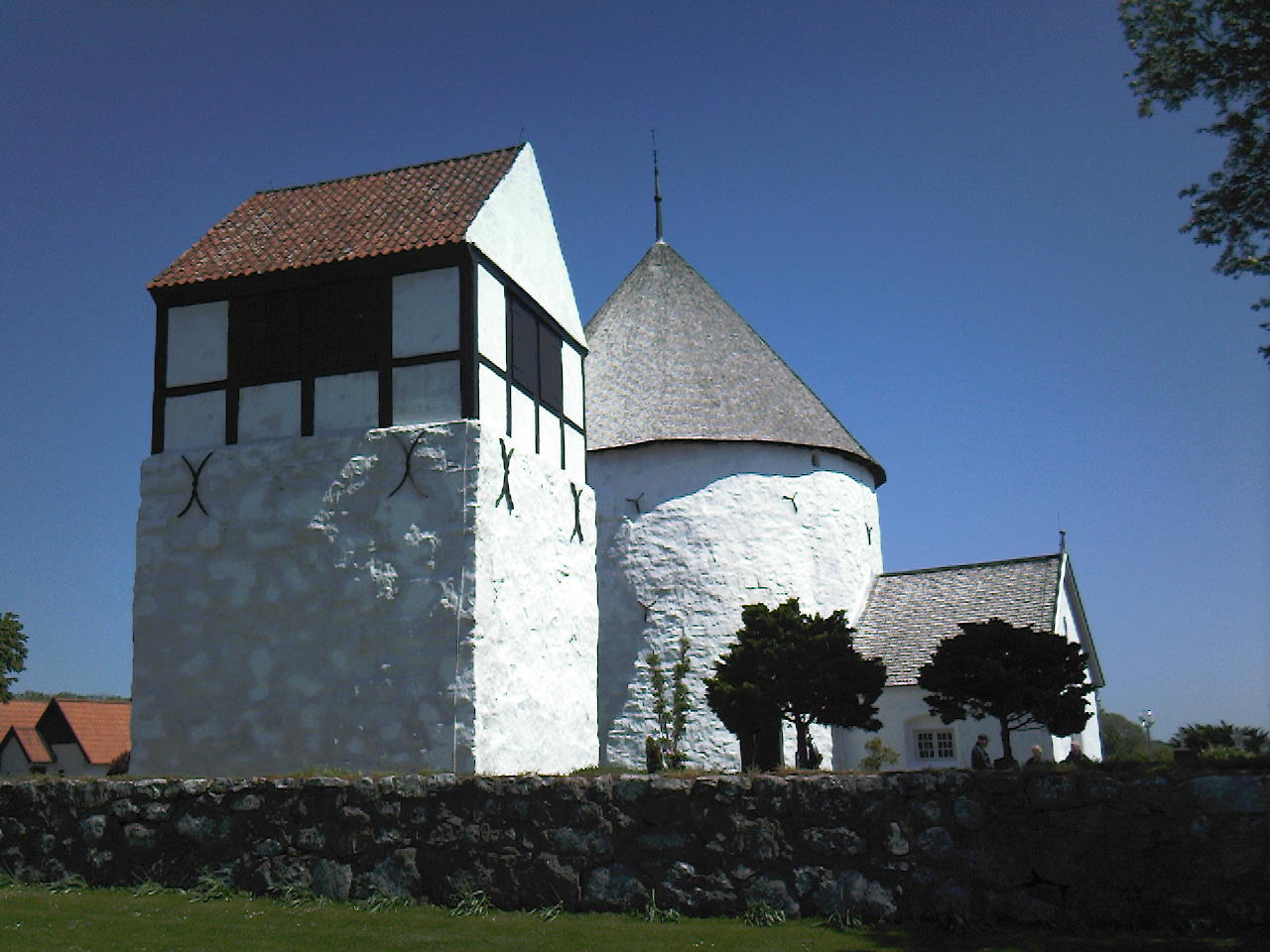 Round Church on Bornholm
