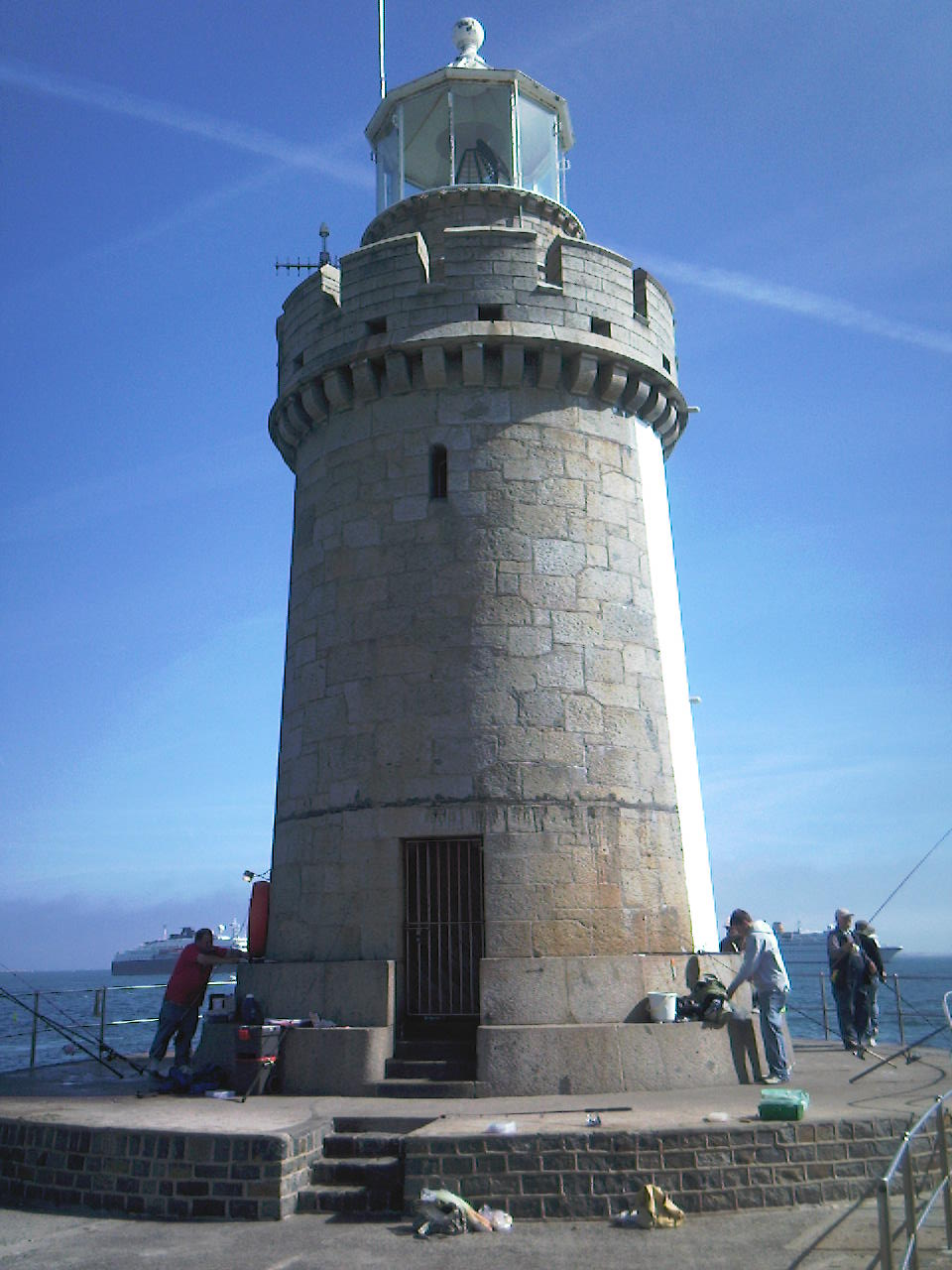 Lighthouse in St. Peter Port, Guernsey