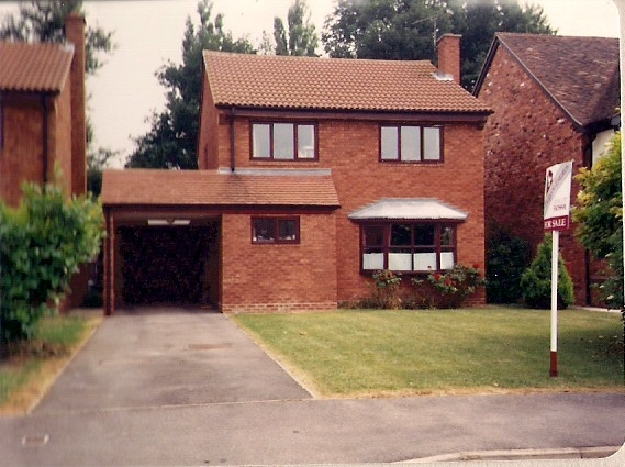 11) My former home in Didcot, Oxon.