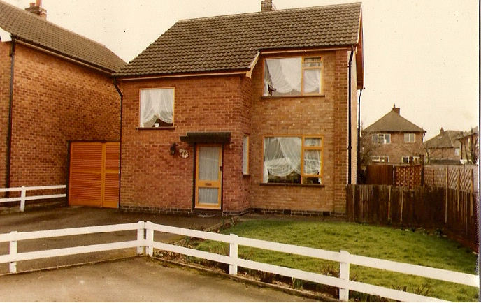 11) My former home in Wigston, Leics.