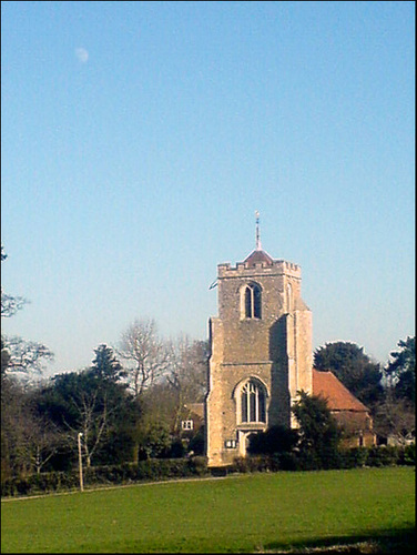 1) St. Mary's at Latton  where I was christened near Great Plumtree, Harlow