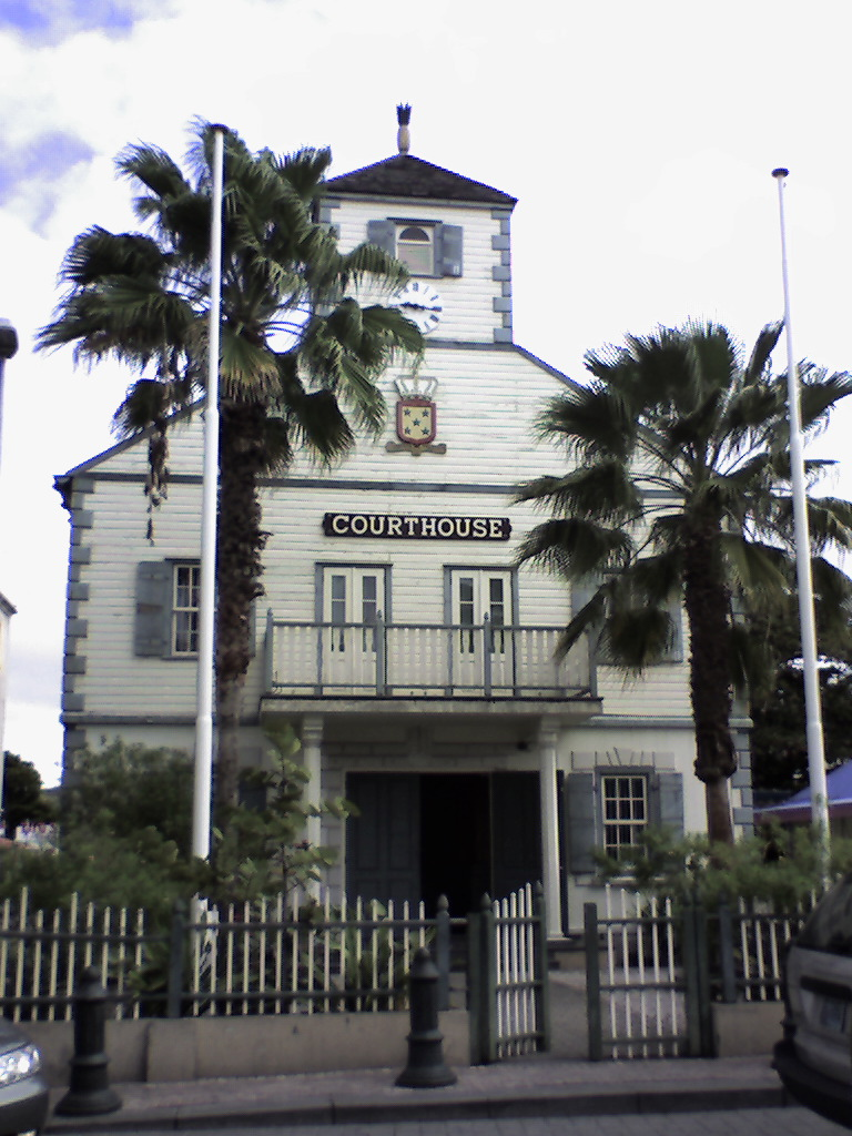 The courthouse in Philipsburg, St. Maarten