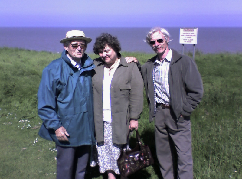 My father, my cousin Susan and Stephen Kime