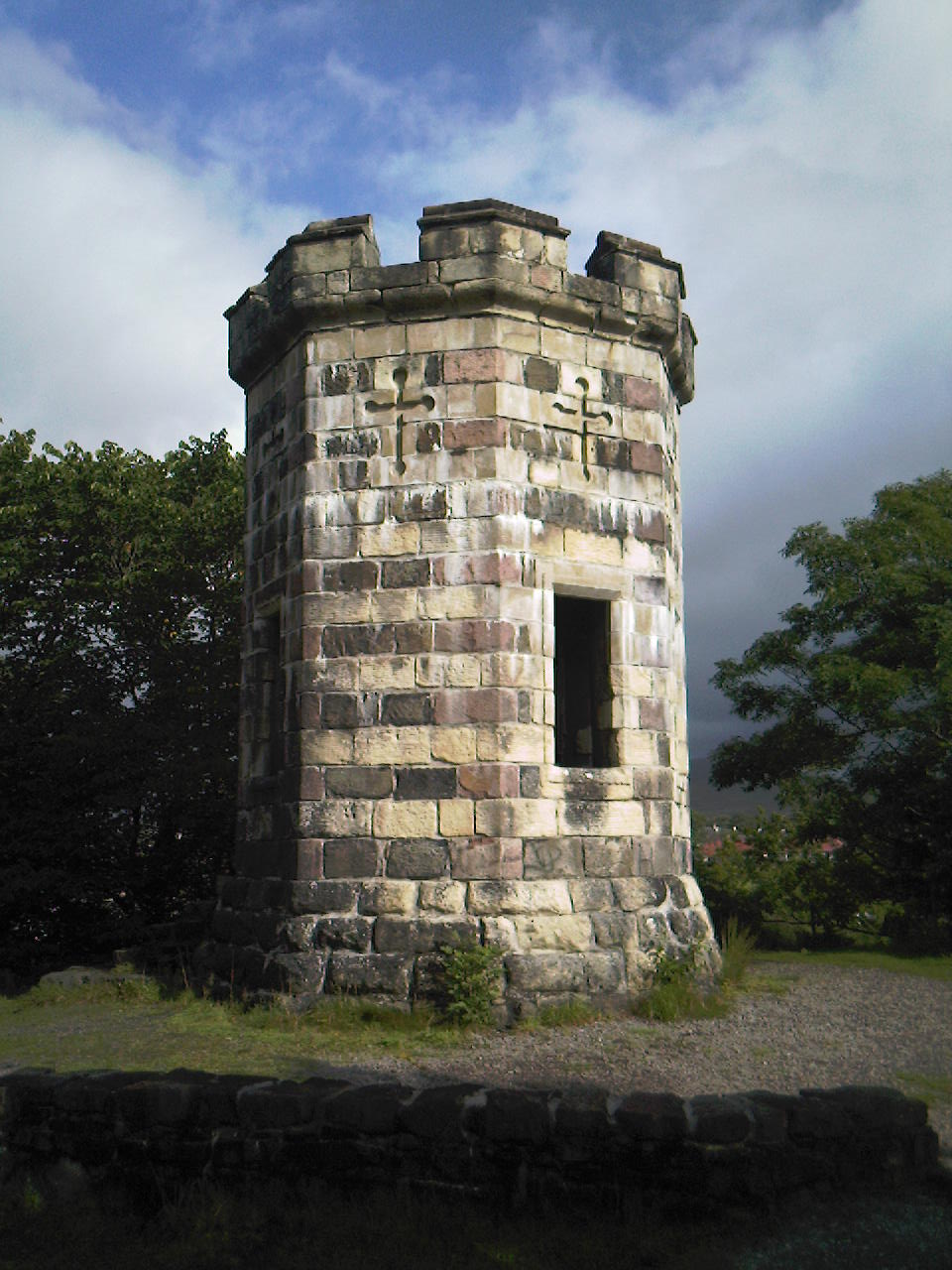 Tower at Portree on Skye